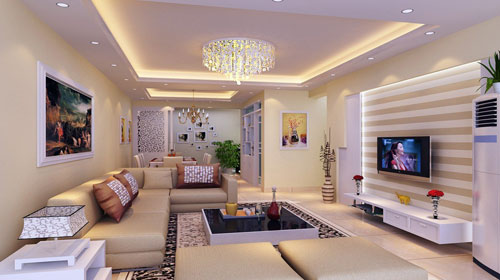 Showroom False Ceiling