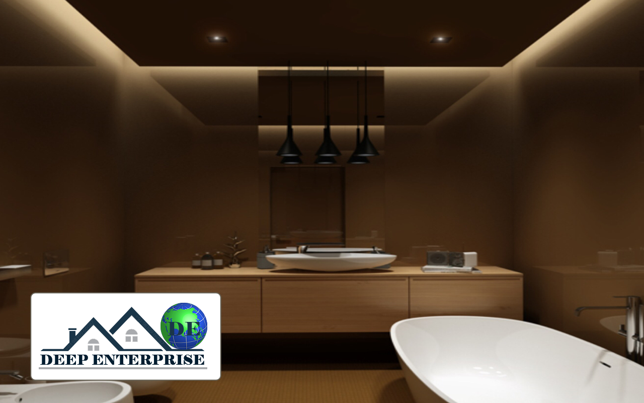 Spa Salon False Ceiling, Deep Enterprise, Spa Salon False Ceiling Contractor,