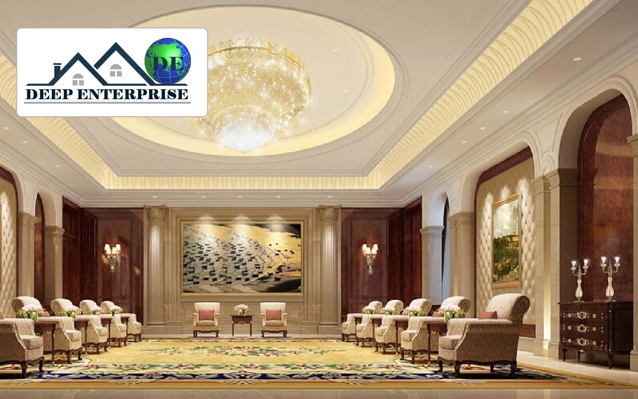 Banquet False Ceiling, Deep Enterprise,  Banquet False Ceiling Design, False Ceiling Contractor in kolkata,