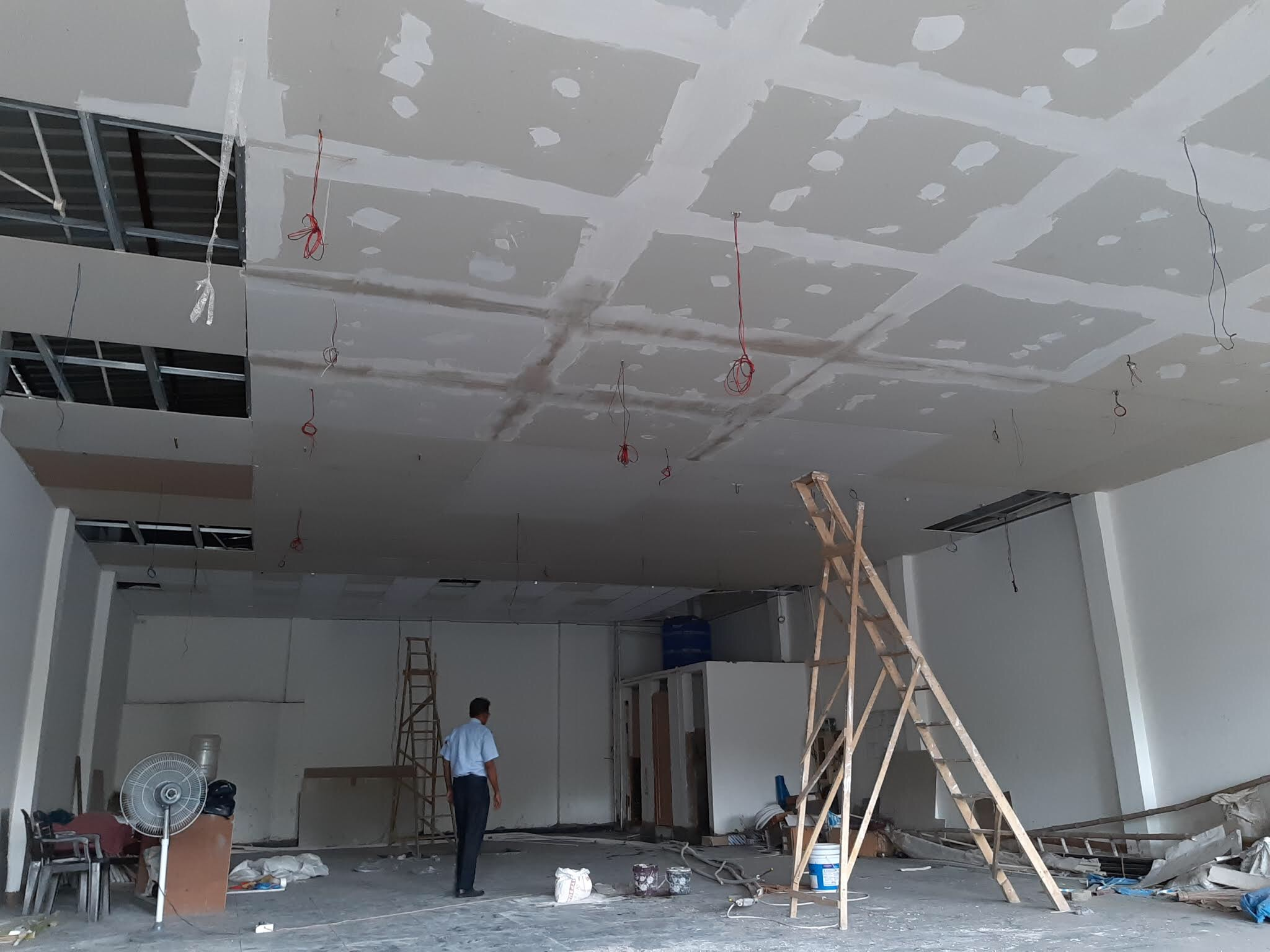 drywall Gypsum Bord Ceiling , Heat prove Falsceiling,Soroom Falsceiling,  Industry Falsceiling , where house  Falsceiling,