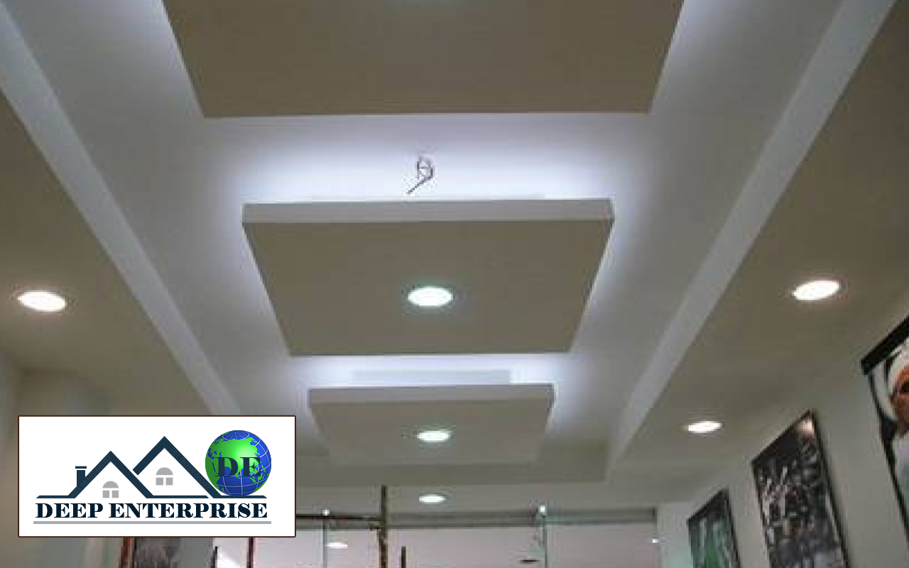 ceiling design for office. Office False Ceiling Design, Deep Enterprise, Contractor In Kolkata, Design For