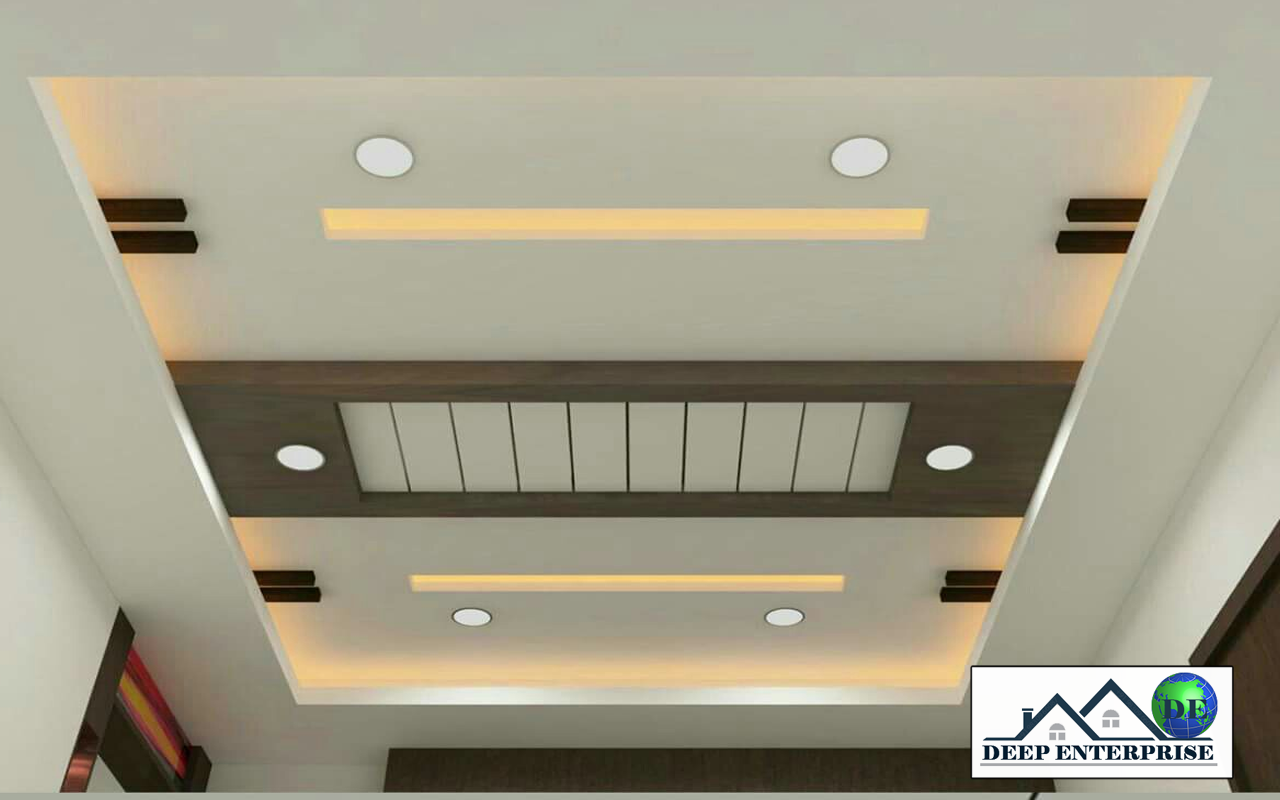 Gypsum False Ceiling, Gypsum False Ceiling Contractors in Kolkata, Gypsum False Ceiling Design,  Deep Enterprise