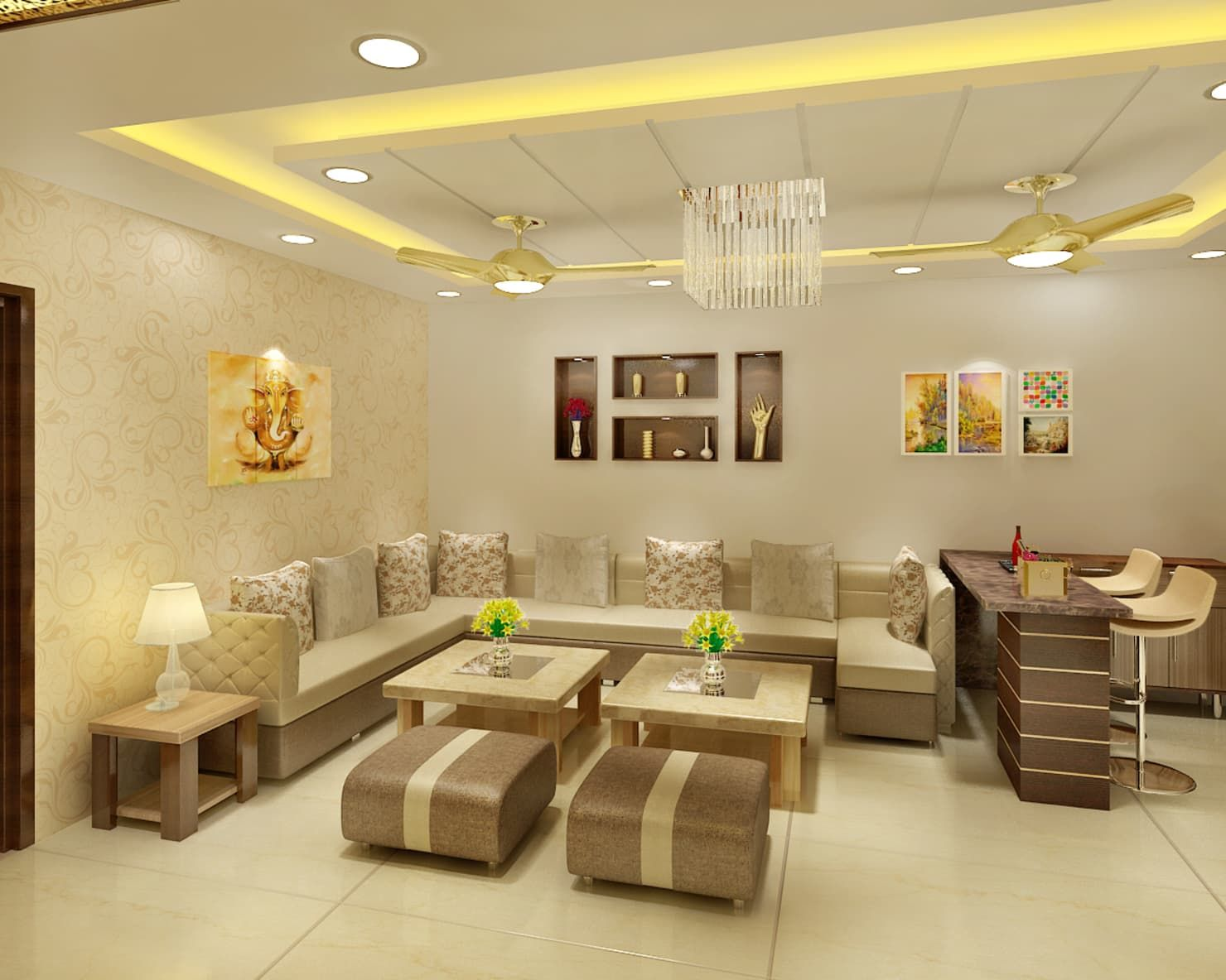living room interior , interior for  drying room ,Modern living room interior design