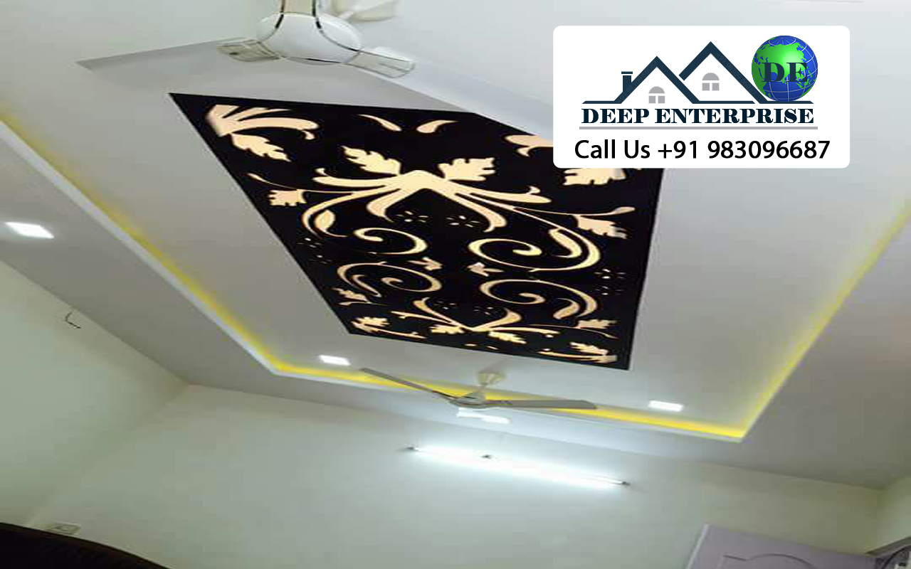 Mdf Acrylic False Ceiling, Deep Enterprise, Mdf Acrylic False Ceiling Contractor