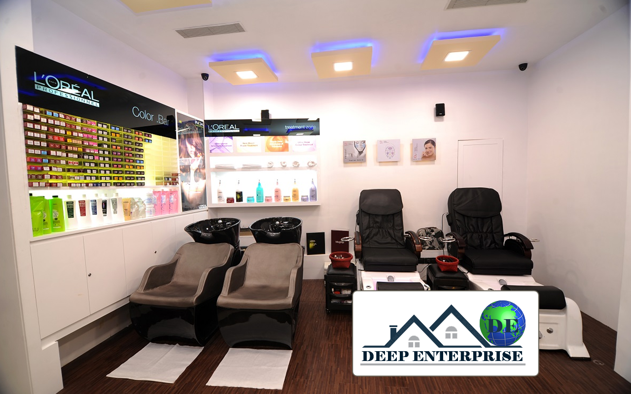 Spa Salon False Ceiling Deep Enterprise Contractor